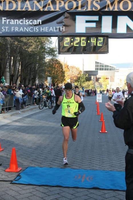 a sub 2:30 marathon