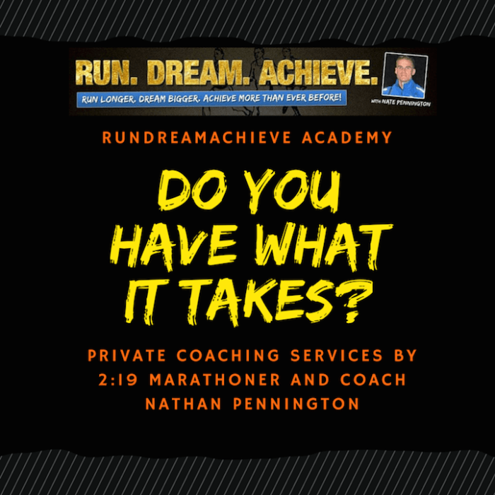 run dream achieve school