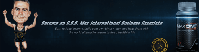 max international compensation plan