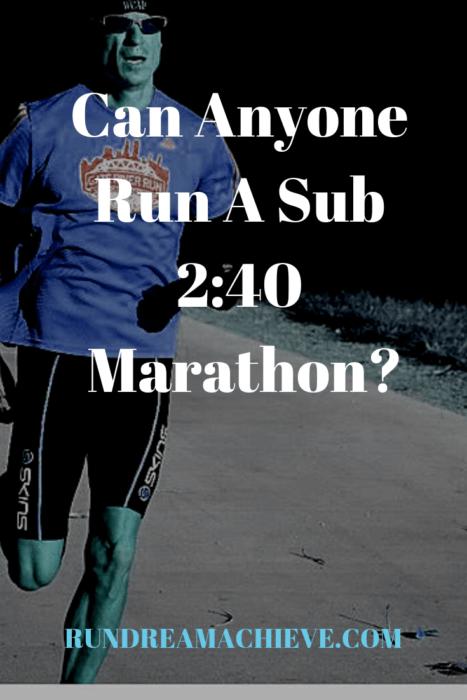 sub 2:40 marathon