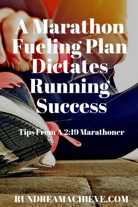 marathon fueling plan