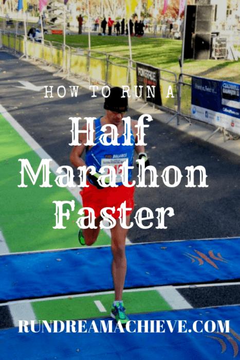 how to run a half marathon faster