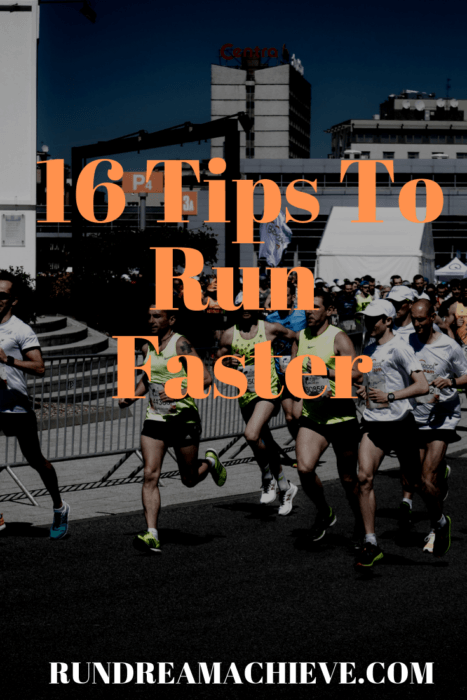 tips to run faster