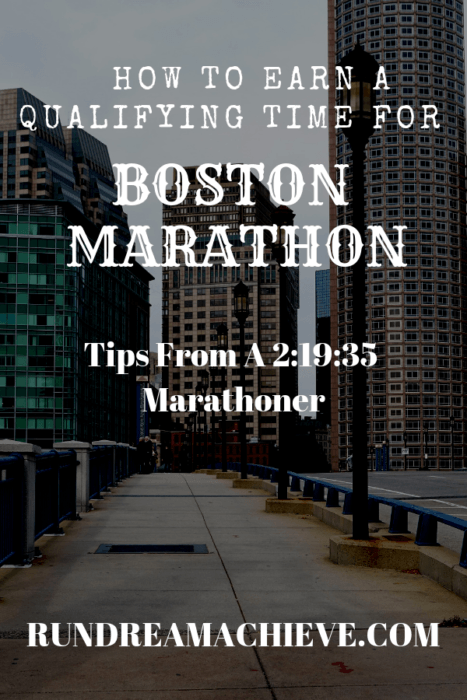 qualifying time for boston marathon