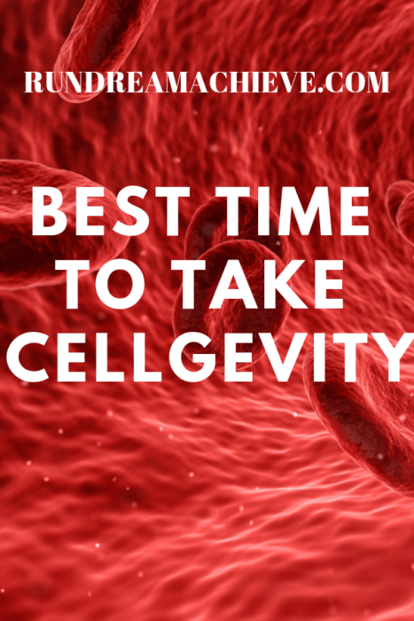 best time to take cellgevity