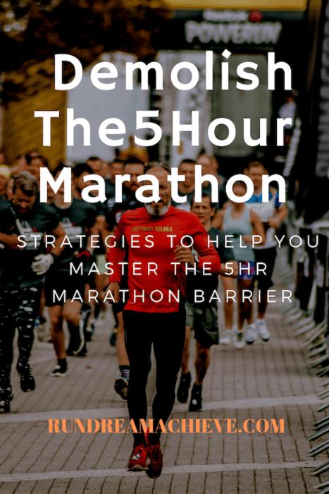 5 hour marathon